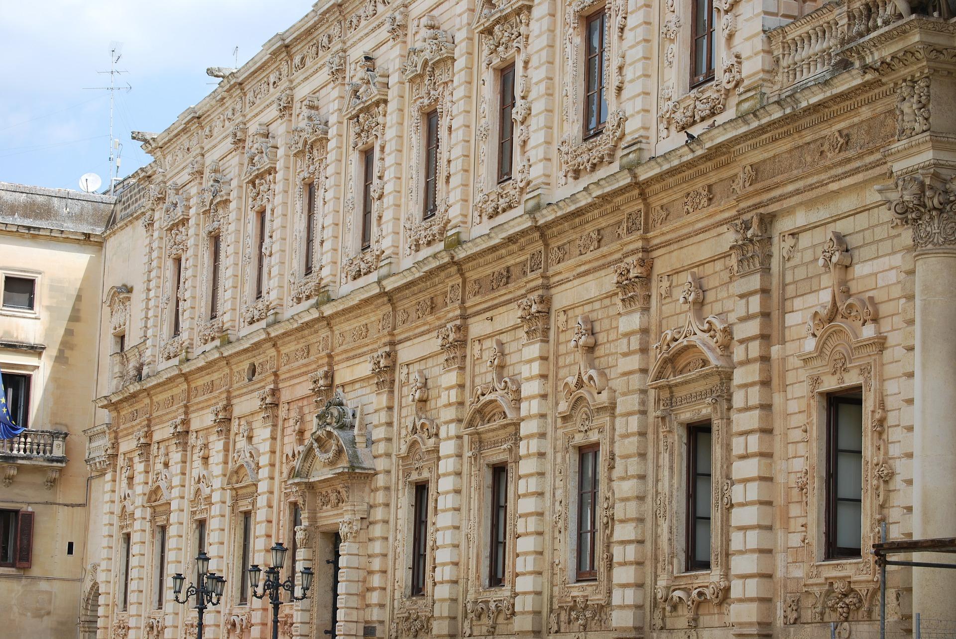 Lecce palazzo dei Celestini